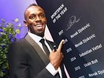 Usain Bolt qua mặt Ronaldo giành 'Oscar thể thao 2017'