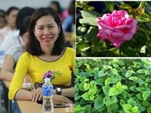 Chỉ với 5 triệu đồng, cô giáo trẻ ở Sài Gòn đã có 1 khu vườn trồng hoa và rau rất xinh xắn