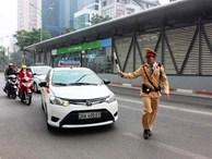 Tin mới: Tước bằng lái 10 tài xế chạy xe vào đường buýt BRT
