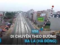 Toàn cảnh tuyến đường sắt trên cao sắp hoạt động