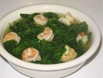 Cách làm món canh rau lang nấu tôm ngọt mát, chuẩn ngon bổ rẻ