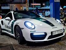 Porsche 'cảnh sát Dubai' và dàn xe thể thao Sài Gòn đi Thái