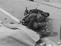 Dân đuổi chặn xe bêtông cán tử vong cô gái đi xe tay ga