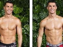 Ronaldo cười rạng rỡ, khoe thân hình lực lưỡng quảng bá đồ lót CR7