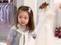 Cadie xinh xắn khi qua cửa tiệm của mẹ chơi