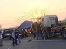 Vụ người đàn ông tử vong trong ca bin xe tải ở Bắc Ninh: Nghi án xe chở hàng bị cướp