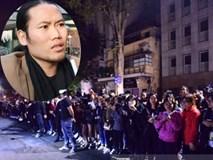 Gặp fans đứng chờ Seungri lúc nửa đêm, nghệ sĩ Vượng Râu về treo status gây váng