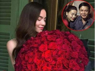 Hồ Ngọc Hà mãn nguyện khoe món quà Valentine muộn của bạn trai