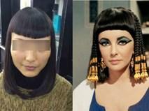 """Chủ salon khoe kiểu tóc """"nữ hoàng Ai Cập tái sinh"""" khiến khách hàng tê tái"""