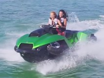 Những loại xe có thể chạy dưới nước