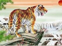 Đại kỵ cần tránh khi treo tranh con hổ, rồng, ngựa trong nhà