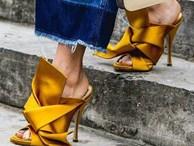 Xu hướng giày dép 2017: Thời đại của những thiết kế 'bánh bèo' thắt nơ