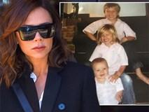 Victoria đăng ảnh thời nhỏ của các con nhân dịp cậu út bước sang tuổi 12