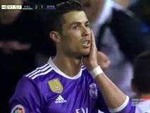 Ronaldo lập công, Real vẫn bại trận trước Valencia