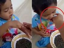 Người mẹ cho con gái 1 tuổi ăn giun sống lên tiếng