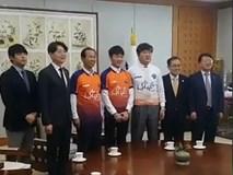 Lễ nhận chức Đại sứ của Lương Xuân Trường tại Hàn Quốc