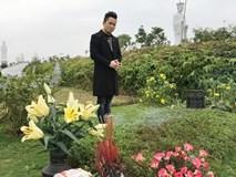 Tùng Dương xúc động hát 'Hoa ban trắng' bên mộ nhạc sĩ Trần Lập