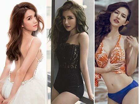 Top 10 biểu tượng gợi cảm mới nhất của showbiz Việt