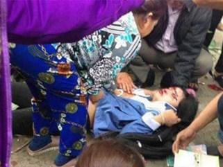 Hai chị em tự tông ô tô, người dân nghi do bị CSGT truy đuổi
