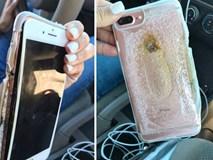 Thêm một chiếc iPhone 7 Plus phát nổ kinh hoàng và bốc khói nghi ngút