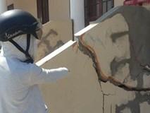 Đà Nẵng: Trung tâm văn hoá xã xây tiền tỷ vừa dùng đã lo sập