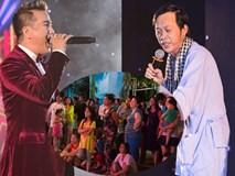 Người dân vây kín xem Hoài Linh, Trấn Thành hát đám cưới đại gia Cần Thơ