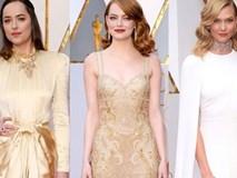"""Thảm đỏ Oscar 2017: Cuộc chiến sắc đẹp giữa nữ thần """"La La Land"""" và các mỹ nhân hàng đầu"""