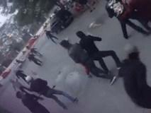 Hà Nội: Hai nhóm thanh niên cầm dao kiếm rượt đuổi nhau trên phố Trần Đại Nghĩa