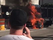 Lamborghini Gallardo độ tăng áp kép cháy rụi tại Mỹ