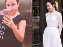 Từng khủng hoảng sau sinh vì cân nặng, Lưu Hương Giang lấy lại dáng chuẩn như này