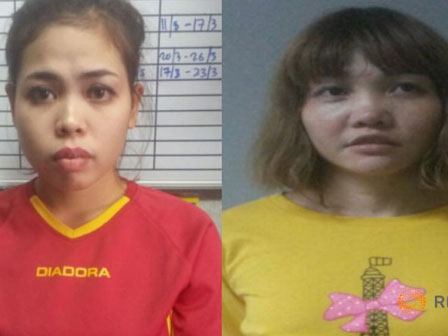 Hai nữ nghi phạm sát hại Kim Jong Nam có thể bị buộc tội mưu sát