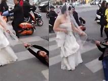 Chú rể bất trị gặp cô dâu hung hãn: Dùng xích sắt trói tay rồi kéo lê về nhà tổ chức hôn lễ