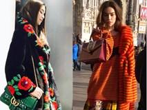 Choáng váng với BST áo khoác lông tiền tỷ Hà Hồ diện ở Milan