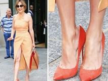 Các mỹ nhân Hollywood thường đi giày dép rộng hơn so với cỡ chân, và đây là lý do
