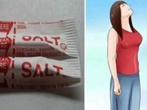 Tại sao trong túi mỗi người nên có một gói muối?