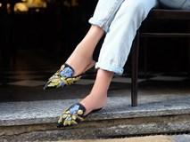 Tạm gác cao gót sang bên, đây mới là 5 mẫu giày/dép bệt bạn cần quan tâm nhất lúc này