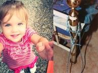 Bé gái 3 tuổi xinh xắn chết tức tưởi sau khi bị cha buộc vào giường, hành hạ suốt nhiều ngày