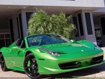 Mất bao nhiêu tiền để đổi màu sơn siêu xe Ferrari chính hãng?