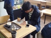 Xuân Trường lấy bằng lái xe chóng vánh ở Hàn Quốc