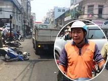 Nghi án kẻ cướp chạy ngược chiều gây tai nạn khiến 1 người nguy kịch