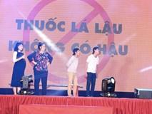NSND Hồng Vân lên tiếng chống buôn lậu thuốc lá
