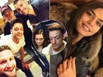 Ozil lộ bí mật đính hôn với Hoa hậu Thổ Nhĩ Kỳ