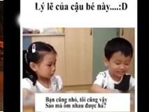 Video: Bạn gái đòi về và lý lẽ của cậu bé khiến người lớn cũng phải chịu thua