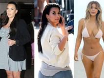 """""""Mổ xẻ"""" cách giảm cân """"bọc mình trong túi ni lông"""" của diễn viên Kim Kardashian"""