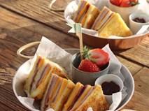 Thêm một cách làm bánh mì sandwich ngon đẹp bất ngờ cho bữa sáng