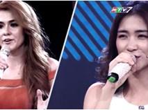 Hòa Minzy 'đứng hình' vì cô gái lai Tây xinh đẹp nhưng có giọng hát ngang phè