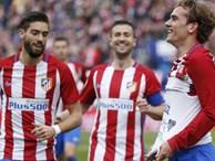 Atletico 3-0 Valencia: Griezmann đưa Atletico trở lại Top 4