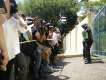 Cảnh sát Malaysia lập rào chắn ở sứ quán Triều Tiên