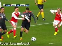 Arsenal thua tan nát trước Bayern ở trận lượt về