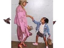 Phong cách thời trang sang chảnh của con gái Beyonce Knowles